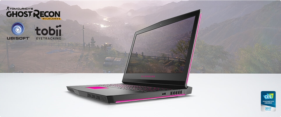 The Alienware 17 with Tobii eye tracking technology was a CES 2017 Innovation Award honoree.