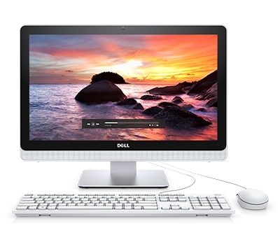 "Dell Inspiron 22 3000 21.5"" AMD Quad Core A8 Touch All-in-One"
