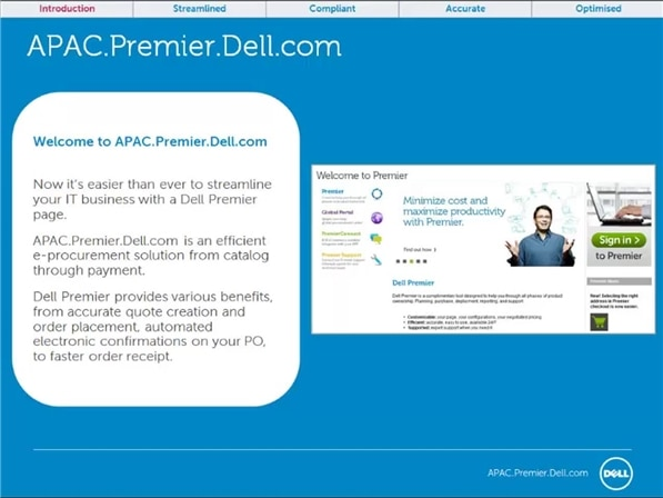 Dell Premier APJ Tour Video Dell Simple Dell Quote To Order