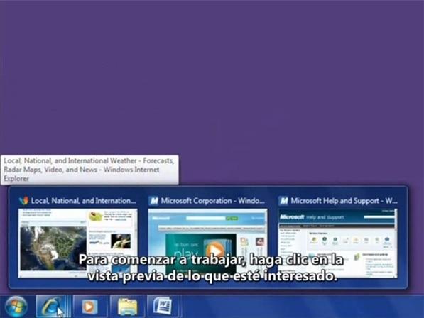 barra de tareas windows 7