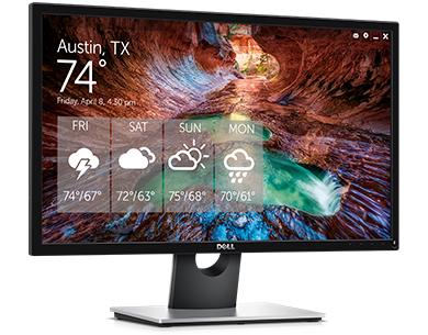 צג SE2417HG של Dell – עיצוב שמתאים לכל מקום ולכל זמן