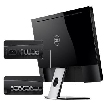 צג S2817Q של Dell - עיצוב שתוכנן בקפידה