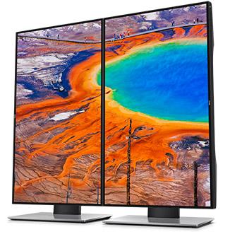 צג U2417H של Dell - מתוכנן במיוחד עבורך