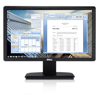 Dell LED Monitor E1916H Monitor Black Widescreen 18.5 inch ...