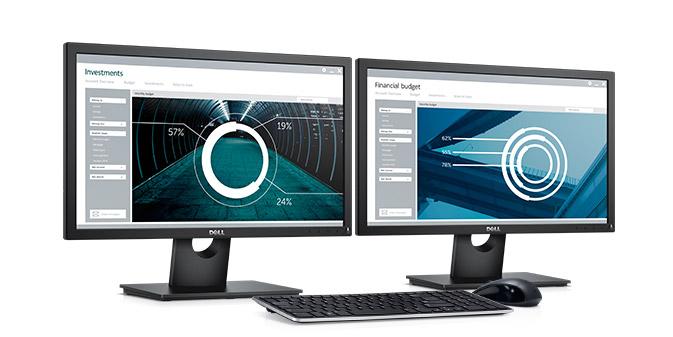 צג E2216H  של Dell - לדרישות המשרדיות היום יומיות