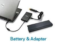 Battery & Adapter