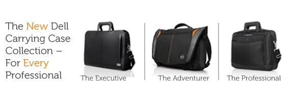 The New Dell Carrying Case Collection - For Every Professional