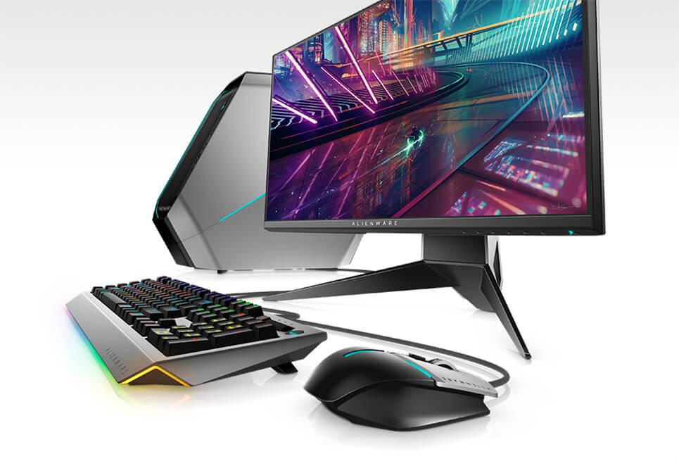 Nuevo monitor para juegos Alienware25 | AW2518HF: adornado y por completo