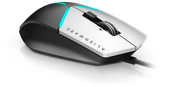 Alienware Elite 遊戲專用滑鼠:AW558 | 無懈可擊的精準度