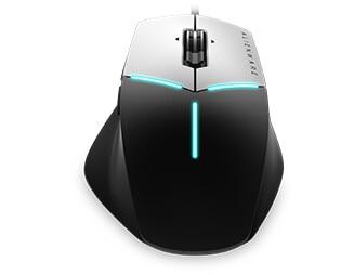 Alienware Elite 遊戲專用滑鼠:AW558 | AlienFX 照明效果