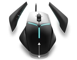 Alienware Elite 遊戲滑鼠:AW958 | 客製化標準配備