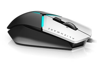 Alienware Elite 遊戲滑鼠:AW958 | 耐用舒適