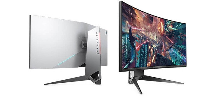 Alienware 34 Gaming Monitor | AW3418DW - Custom lighting effects