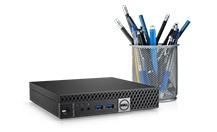 Monitor interactivo para sala de conferencias Dell70: C7017T | Computadora OptiPlex 7040 Micro con Intel® Unite™