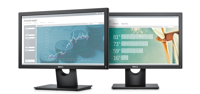 Dell 19 Monitor | E1916H - An everyday office essential