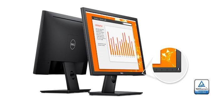 Monitor Dell 23: E2318H | Extraordinaria facilidad de uso.
