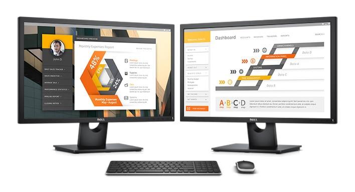 Monitor Dell24: E2417H | Un imprescindible para la oficina diaria