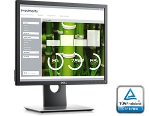 Dell 19 Monitor - P1917S | Enhanced viewing experience