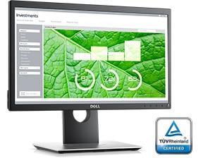 Monitor Dell20: P2018H | Experiencia de visualización mejorada
