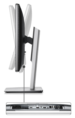 Dell 24 Ultra HD 4K Monitor – P2415Q: Capacidad de ajuste completo