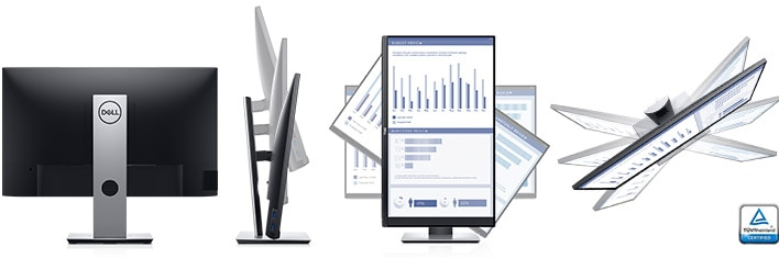 Dell 27 Monitor - P2719H | Designed to fit the way you work