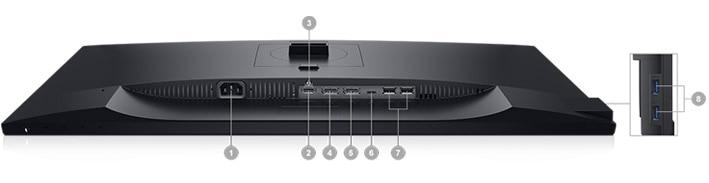 Dell 27 USB-C Monitor: P2719HC | Connectivity Options
