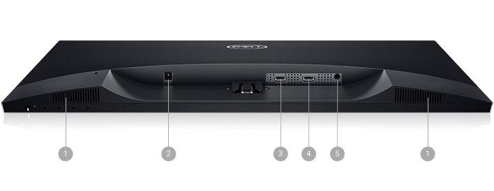 Monitor Dell27: S2719H | Opciones de conectividad