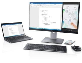 Dell UltraSharp 24 無線連接顯示器 - U2417HWi | 專為日常商務情境而打造