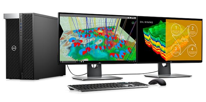 Monitor Dell UltraSharp 25 | U2518D | Complete todos sus trabajos