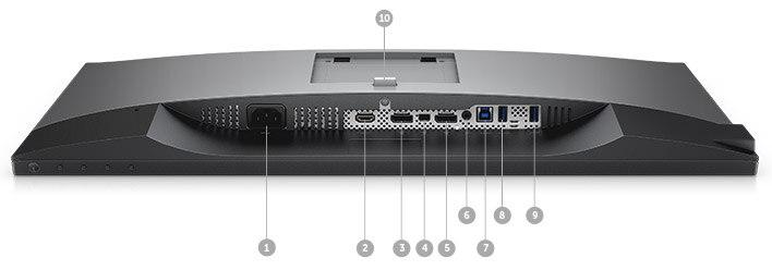 Monitor Dell UltraSharp 25 | U2518D | Opciones de conectividad