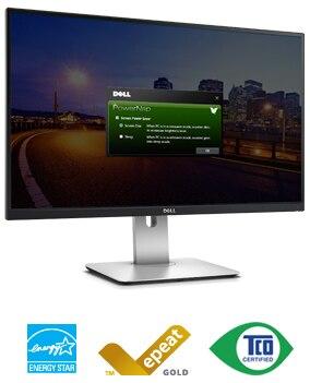 צג UltraSharp בגודל 27 אינץ' | מדגם U2715H של Dell - מהימנות וצריכת אנרגיה יעילה