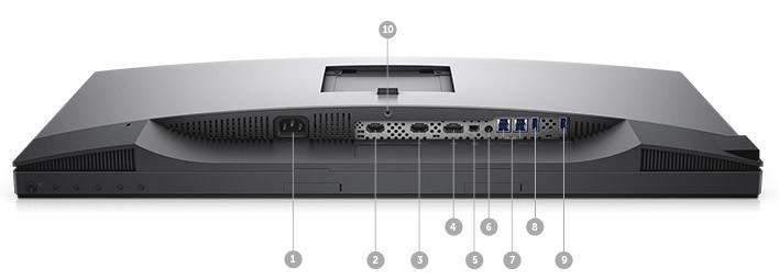 Monitor Dell UltraSharp 27 4K HDR: UP2718Q | Opciones de conectividad