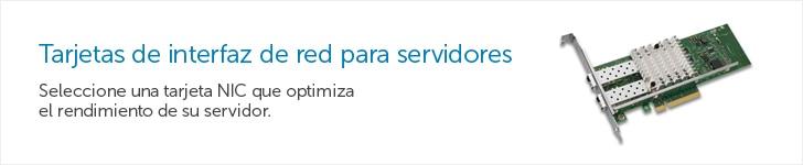 Tarjetas de interfaz de red para servidores