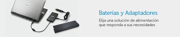 Baterías y Adaptadores