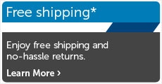 Free shipping*