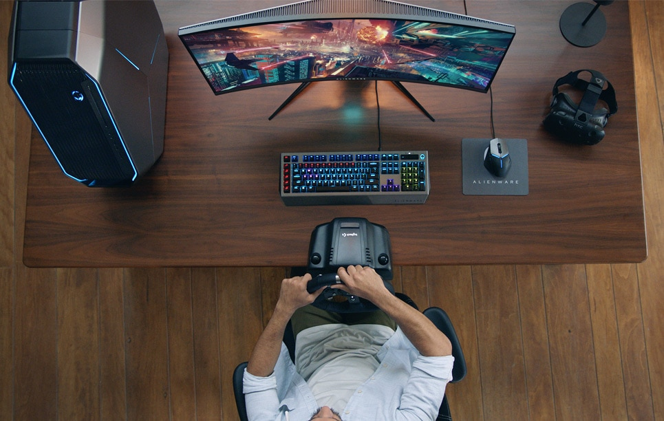 Alienware Monitor AW3418DW - Iconic design is in our blood
