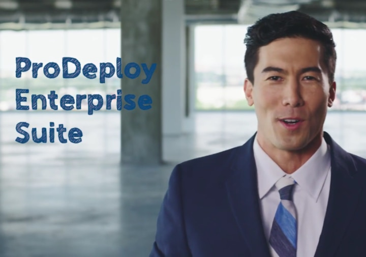 Dell ProDeploy - Get More Out Of Technology Starting Day One