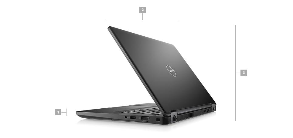 מחשב נייד מדגם Latitude 5491 - מידות ומשקל
