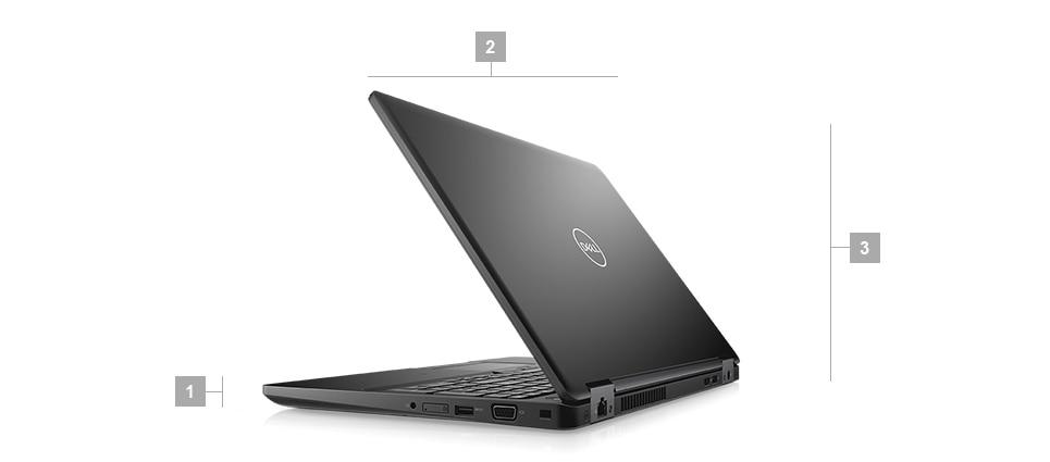 מחשב נייד מדגם Latitude 5591 - מידות ומשקל