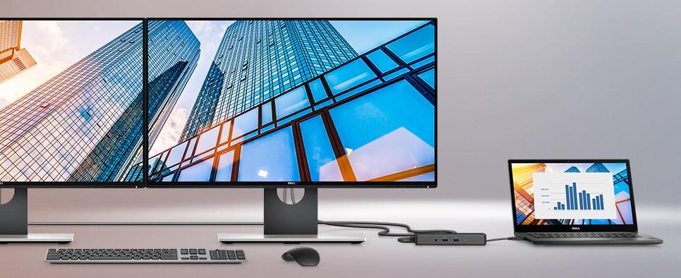 """מחשב נייד בגודל 14"""" מדגם Latitude 7490 - אפשרויות עגינה גמישות"""