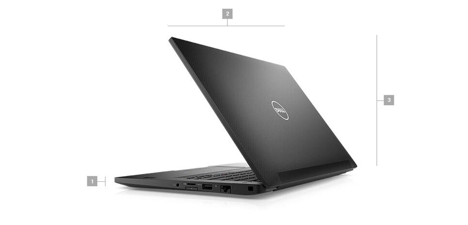 """מחשב נייד מדגם Latitude 7490 בגודל 14"""" - מידות ומשקל"""