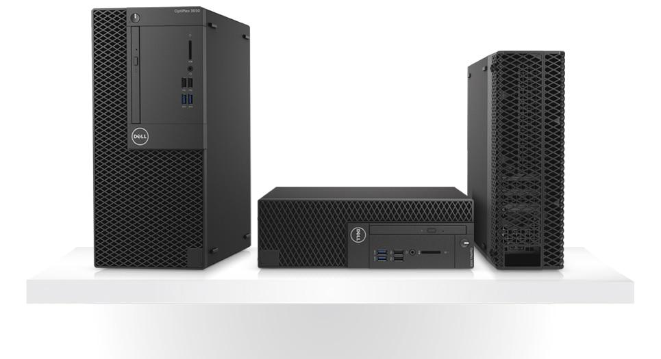 Optiplex 3050 Desktop - Thoughtfully designed