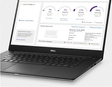 מחשב נייד מדגם Precision 15 5520 - שפר את הפרודוקטיביות בעזרת Dell Precision Optimizer