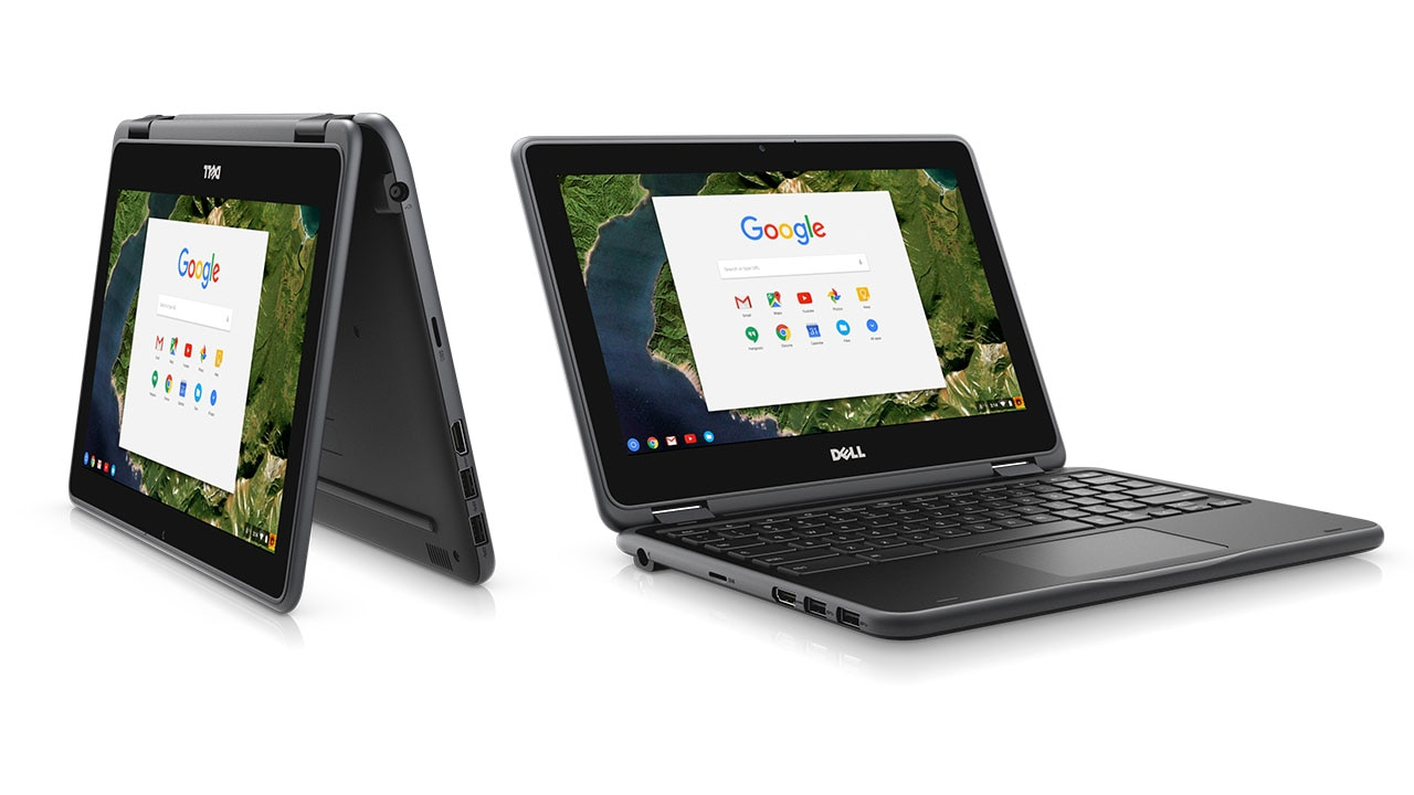 chromebook 11 inch 3189 2 in 1 convertible student laptop dell